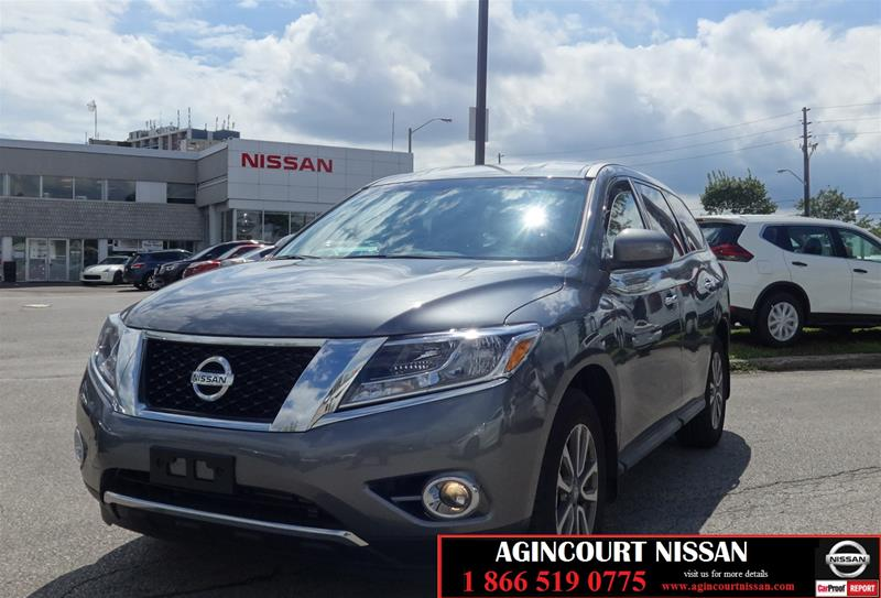 Pre-Owned 2016 Nissan Pathfinder S V6 4x4 at