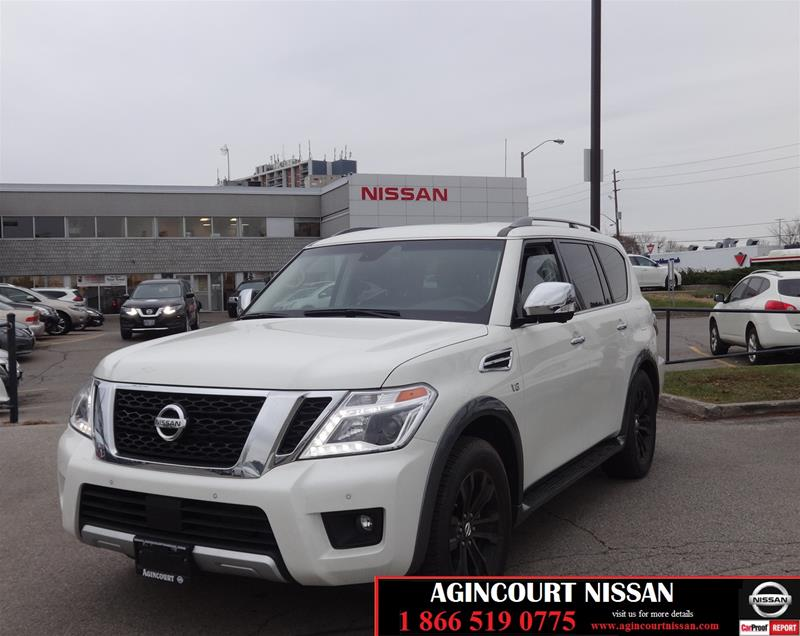 Pre-Owned 2017 Nissan Armada Platinum at